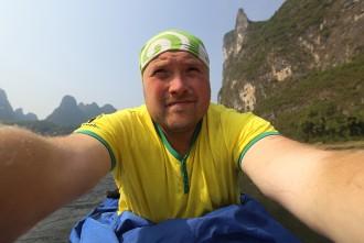 Экспедиция в Китай: Сплав  по реке Ли, Гуйлинь - Яншо. Часть 4