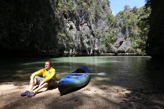 На байдарке по Тайланду.  Острова национального парка Пханг Нга.  День 3-4