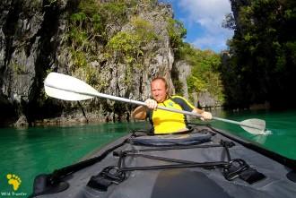 На каяке по Филиппинам.  Начало,  день 1-2.